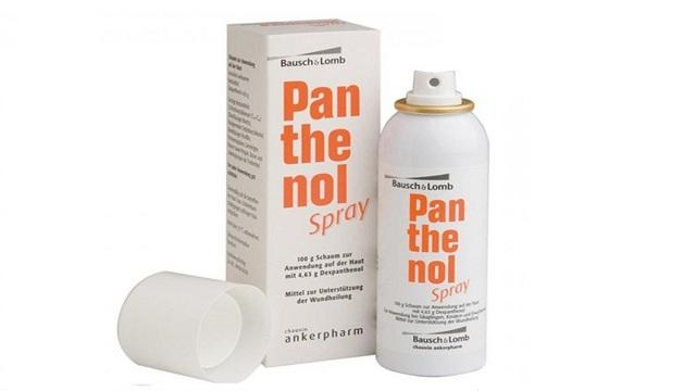 Пантенол спрей: инструкция по применению