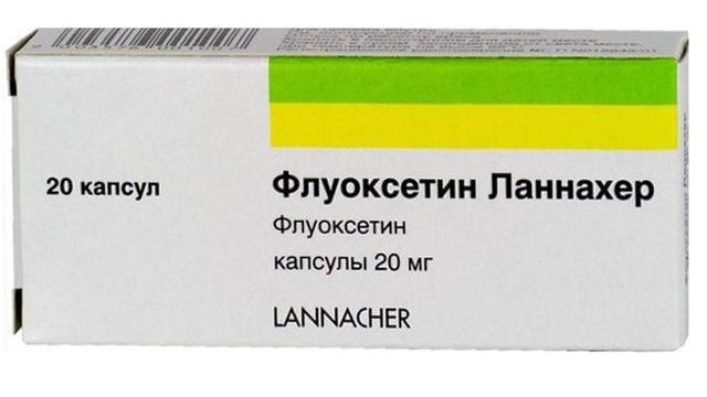 Флуоксетин - инструкция по применению, побочные действия