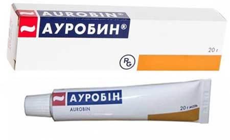 Ауробин мазь - инструкция по применению, цена, аналоги