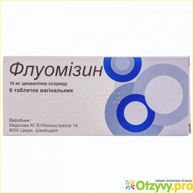 Флуомизин - 6 отзывов, цена от 213 руб., инструкция по применению