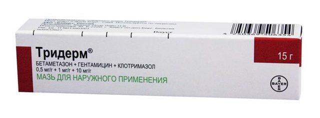 Тридерм - 26 отзывов, инструкция по применению